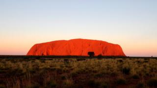 Uluru in the Northern Territory