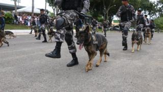 Policiais militares da Bahia