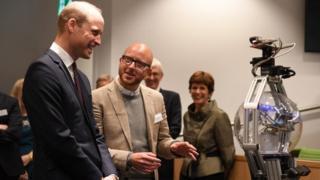 The Duke Of Cambridge Opens The H B Allen Centre At Keble College
