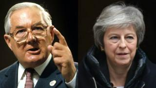 Jim Callaghan and Theresa May