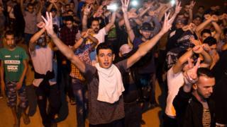 Протесты в Марокко
