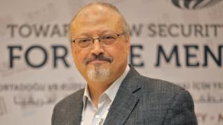 Saudi journalist Jamal Khashoggi in Istanbul, Turkey, 6 May 2018