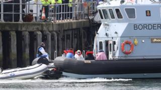 Migrants in Dover