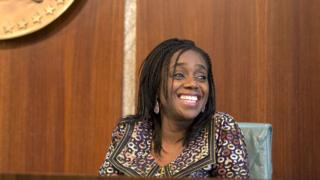 Nigeria Minister of Finance Kemi Adeosun