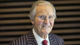 Nicholas Parsons: 'Broadcasting legend' dies aged 96 after short illness