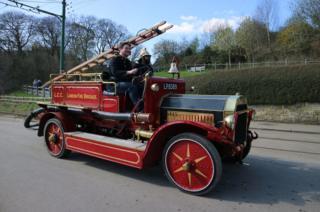 A London Fire Brigade vehicle