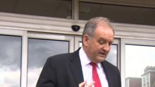 Jonathan Graves leaving court - 14/9/17