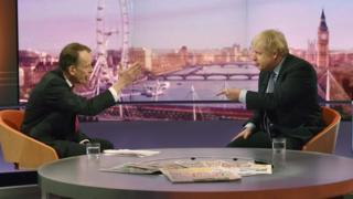 Andrew Marr's interview with Boris Johnson attracts 12,000 complaints
