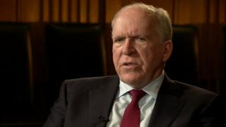 John Brennan hablando con la BBC