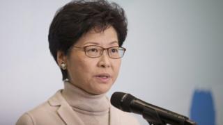 香港前政務司司長林鄭月娥