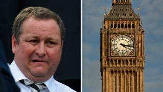 Mike Ashley and Big Ben