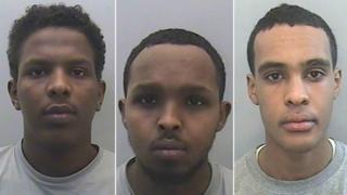 Abdirahman Abukar, Abdirahman Kadir and Ibrahim Mohammed