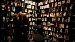 Amafoto y'abaguye muri jenoside mu Rwanda muri 1994