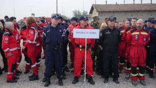 Vežba NATO u Mladenovcu