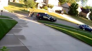Grab from footage released by Michigan State Police, 14 July