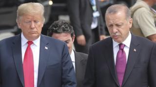 اردوغان وترامب: خلافات حول ملفات هامة وشائكة