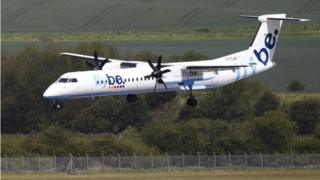 Flybe regional aircraft
