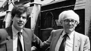 Tony Blair and Michael Foot