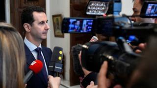 Suriye Devlet Başkanı Beşar Esad, Fransız medyasına konuştu