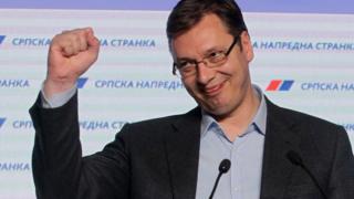 Prime minister Aleksandar Vucic