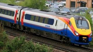 Train from East Midlands Trains
