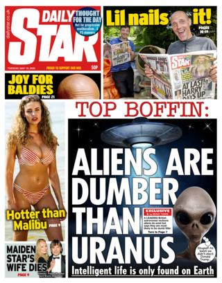 The Daily Star front page 19/05/20