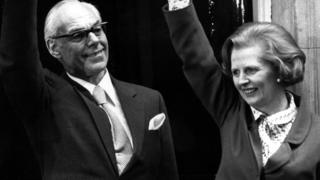 Denis Thatcher, here with his wife on the steps of No 10 in 1979, called for the editor of the BBC's Today programme to be fired