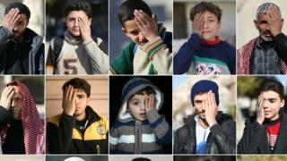 حملة سورية للتضامن مع أحد الأطفال المصابين للمطالبة بإجلائهم لتلقي العلاج