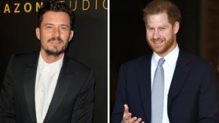Orlando Bloom to voice Prince Harry in an animated series