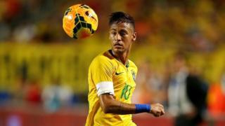 Mshambuliaji wa Brazil Neymer Jr