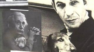 Albert Einstein y Nimoy
