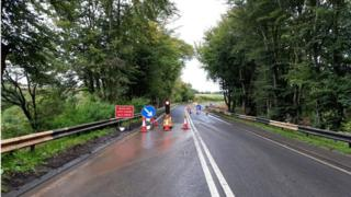 sports Road reopens