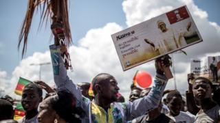 Des militants de Maurice Kamto à Yaoundé