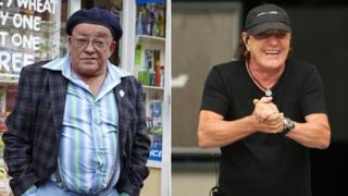 Tim Healy and Brian Johnson