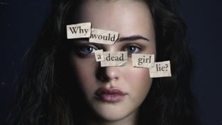 Poster showing character Hannah Baker in 13 Reasons Why