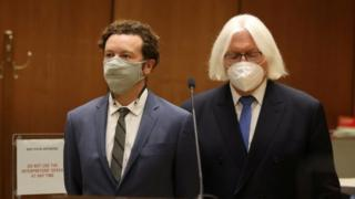 Actor Danny Masterson is arraigned on three rape charges