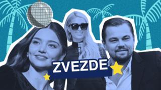 Miranda Ker, Paris Hilton i Leonardo di Kaprio