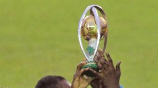 Le trophée du Championnat d'Afrique des Nations (CHAN)