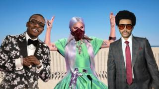 DaBaby, Lady Gaga and The Weeknd