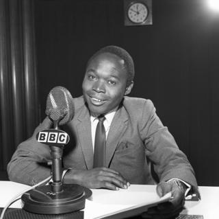 Alois Ngosso, mmoja wa watangazaji wa BBC Swahili miaka ya sitini