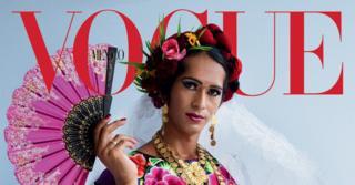 portada de Vogue muxe