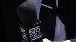InfoWars microphone