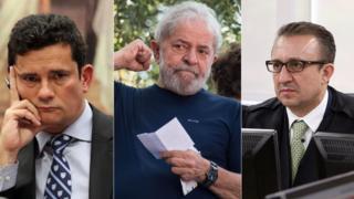 Sergio Moro, Lula e Rogerio Favreto