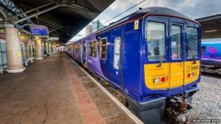 A Northern Rail electric train