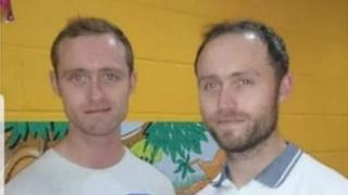 Colm Butcher and his brother Christopher