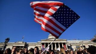 مظاهرة تضم الآلاف في لندن يوم 21 يناير/كانون الثاني لللإعراب عن معارضتهم لترامب