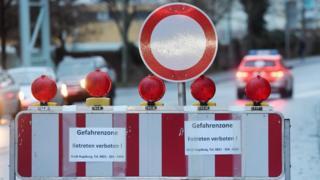 Въезд в центр Аугсбурга запрещен
