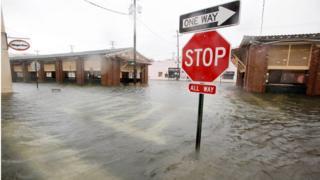 El mercado histórico de Charleston se inundó