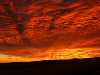 Sunrise over Gardenstown