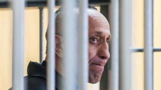 Mikhail Popkov in court, 10 Dec 18